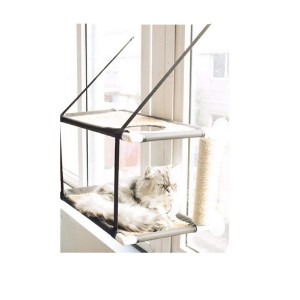 Gaobey Double Level Cat Window Perch