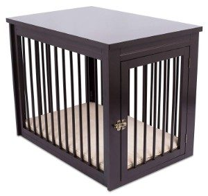 Internet's Best Decorative Dog Kennel with Pet Bed