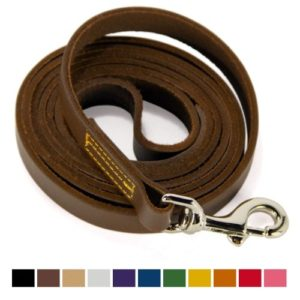 Logical Leather Training Leash