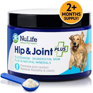 NuLife Natural Pet Health Advanced Hip and Joint Supplement for Dogs