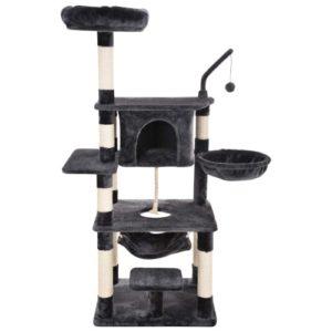Ollieroo Large Cat Tree Condo Multi-Level Cat Climbing Tower