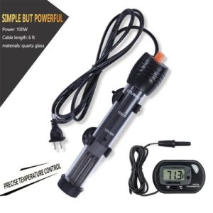 Orlushy Submersible Aquarium Heater