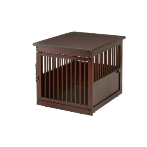 Richell Wooden End Table Crate Large