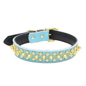 Sunward Studded Puppy Dog Collar