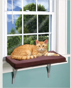 Window Perches Deluxe Kitty Window Perch Bed
