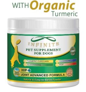 Infinite Pet Supplements All-Natural Hip & Joint Supplement for Dogs