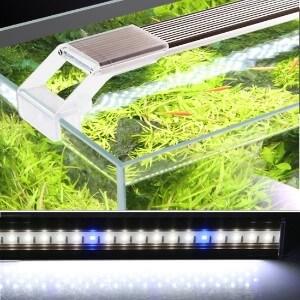 JackSuper Aquatic Plant Aquarium Light for Small Fish Tank