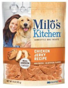 Milo's Kitchen Chicken Jerky Strips