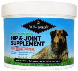 Pet Blue Naturals Glucosamine for Dogs