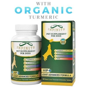 Infinite Pet Supplements All-Natural Hip and Joint Supplements