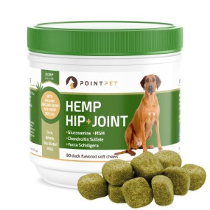 POINTPET Advanced Hip and Joint Supplement for Dogs