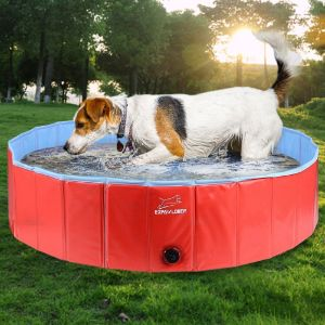 EXPLAWLORER Foldable Dog Swimming Pool
