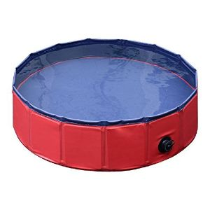 Pawhut Foldable Pet Swimming Pool