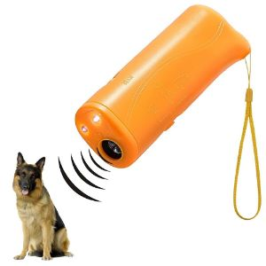 AccMart LED 3 in 1 Anti Bark Dog Training Device