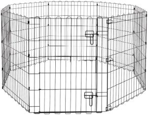 AmazonBasics Foldable Pet Exercise Playpen