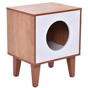 Auténtico Litter Box End Table
