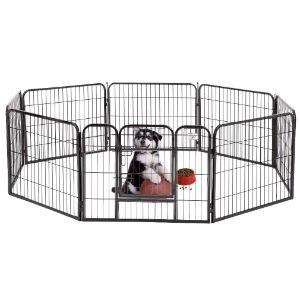 BestPet Pet Exercise Playpen with Door