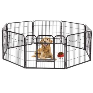 BestPet Pet Metal Exercise Pen