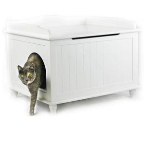 Designer Catbox Jumbo Litter Box Enclosure