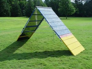 DogSport Rubber Surface Dog Agility A-Frame