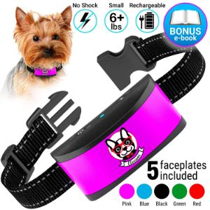ELECANE Small Dog Bark Collar