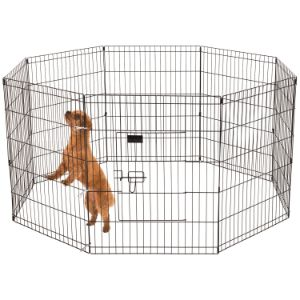 Ollieroo Dog Playpen Exercise Pen