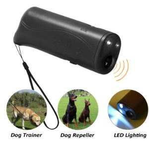 POVAD 3 in 1 Ultrasonic Anti Bark Trainer-min