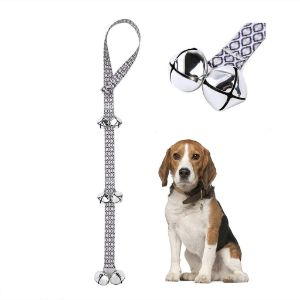 Pet Heroic Dog DoorBells for Potty Training & House Training-min