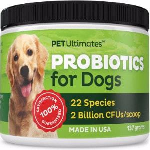 Pet Ultimates Probiotics for Dogs