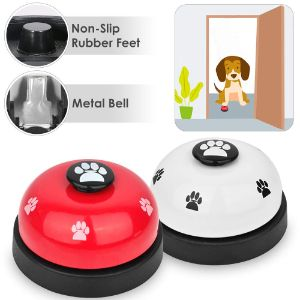 SlowTon Pet Bell 2 Pack Dog Door Bell for Potty Training-min