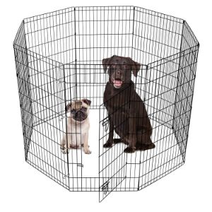 SmithBuilt Crates Dog Playpen with Door