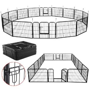 Yaheetech Heavy Duty Metal Pet Exercise Playpen