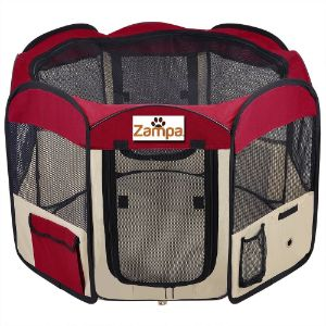 Zampa Pet Playpen