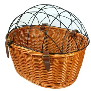 AORYVIC Wicker Dog Basket for Bikes
