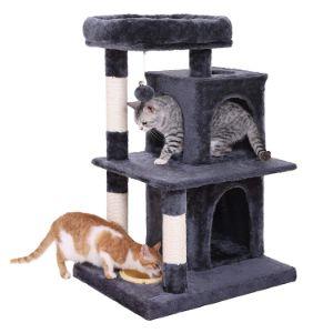 FEANDREA Dual Cat Condo