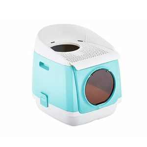 FXQIN Simply Clean Self-Cleaning Cat Litter Box