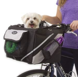 Jack and Dixie Traveler 2-in-1 Pet Bike Basket