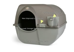 Omega Paw NRA15-1 Self-Cleaning Litter Box