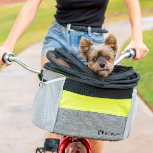 Pet Peddler Dog Bike Basket