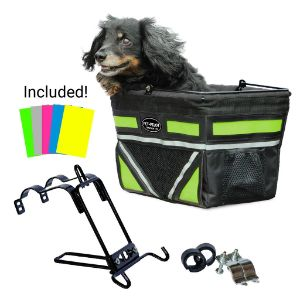 Travelin K9 2019 Pet-Pilot Original Dog Bike Basket