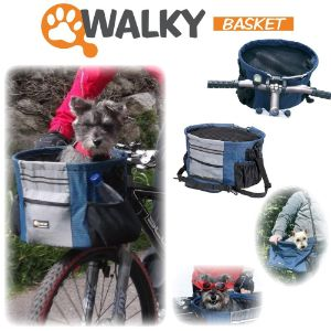 Walky Basket Dog Bike Carrier