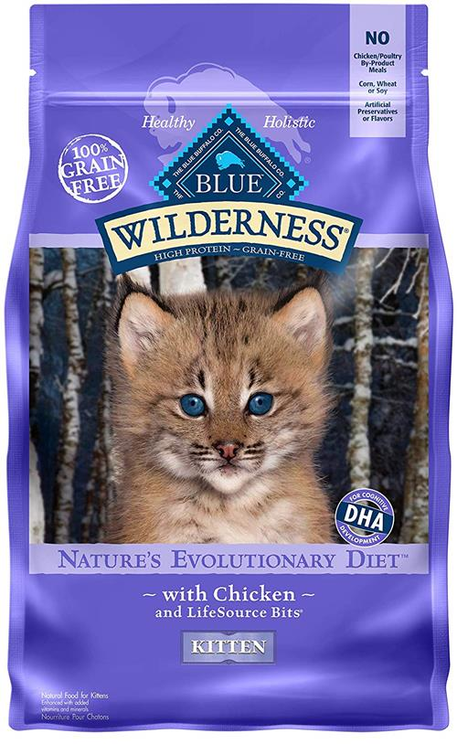 Blue Buffalo Wilderness High Protein Natural Kitten Food