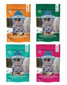 Blue Buffalo Wilderness Soft-Moist Cat Treats Variety Pack