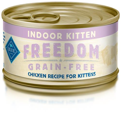 Blue Freedom Kitten Indoor Grain Free Pate