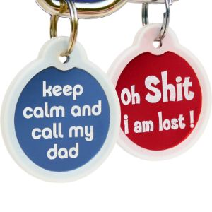 GoTags Funny Dog and Cat Tag