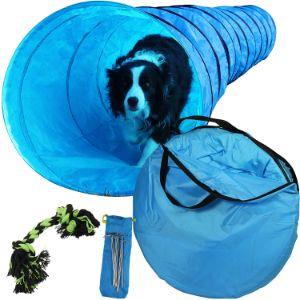 Lake Effect 18ft Dog Agility Training Tunnel
