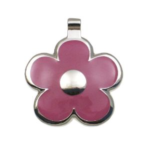 LuckyPet Flower Pet ID Tag