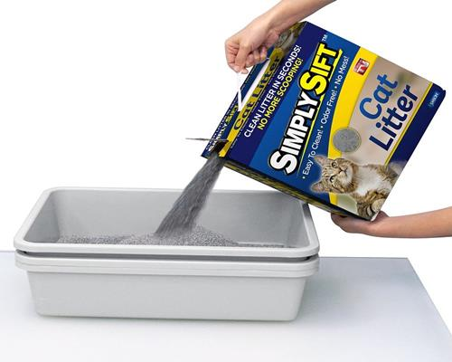 Simply Sift 3 Piece No Mess Cat Litter Tray System