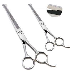 Wellbro Stainless Steel Dog Grooming Scissors Kit
