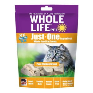 Whole Life Pet Freeze Dried Chicken Treats for Cats
